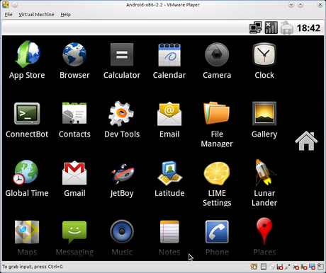 Android VMWare